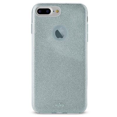Etui iPhone 8 Plus / 7 Plus / 6s Plus / 6 Plus - PURO Glitter Shine Cover (Light Blue)