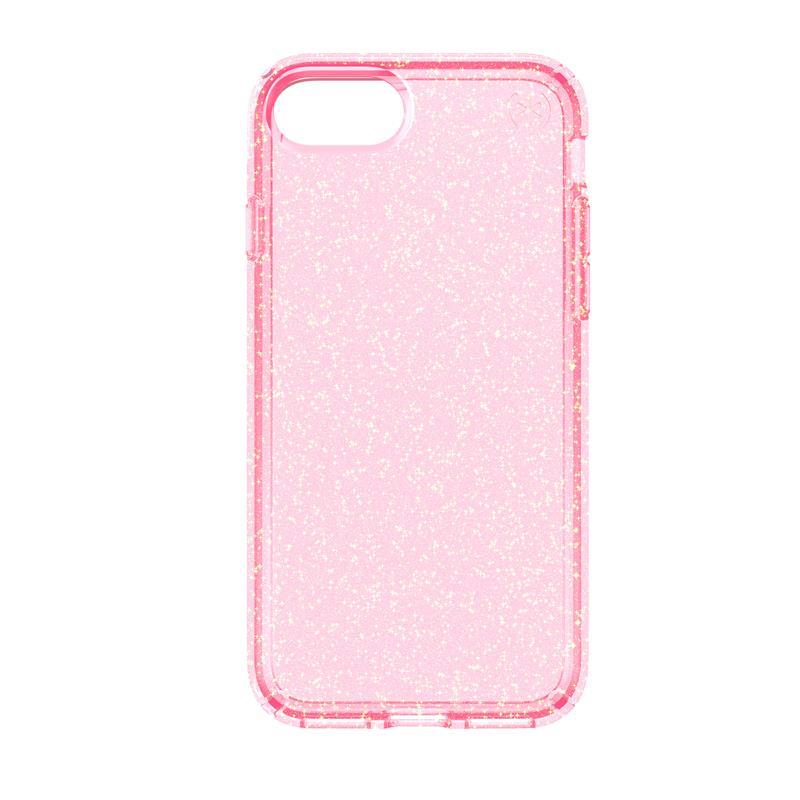 Etui iPhone 7 - Speck Presidio Clear with Glitter (Rose Pink/Gold ...