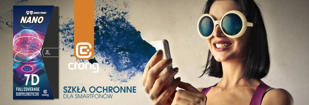 Crong - szkła hybrydowe do iPhone i Samsunga