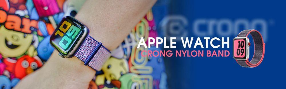 Crong - pasek nylonowy Apple Watch