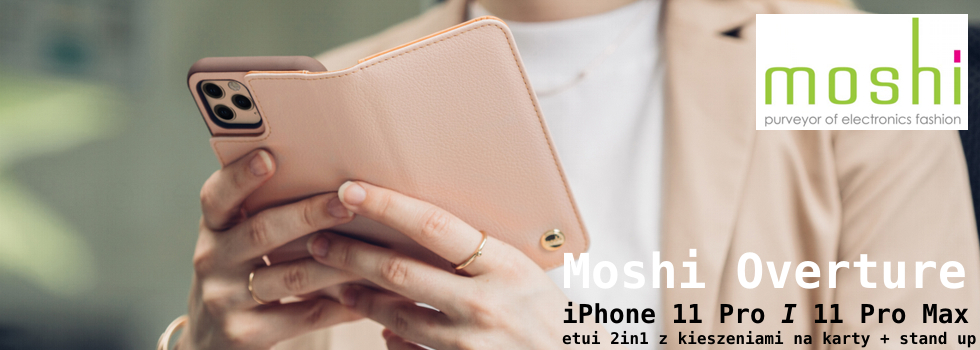 Moshi Overture - etui 2in1 do iPhone 11 Pro / 11 Pro Max