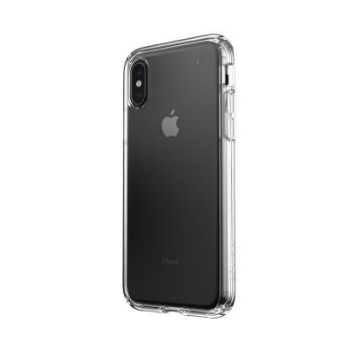 Etui pancerne iPhone Xs/ X z powłoką MICROBAN - Speck Presidio Perfect-Clear (Clear)