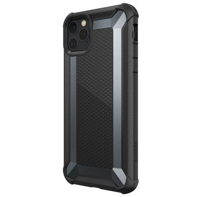 Pancerne etui iPhone 11 Pro Max- X-Doria Defense Tactical (Drop Test 3m) (Black)