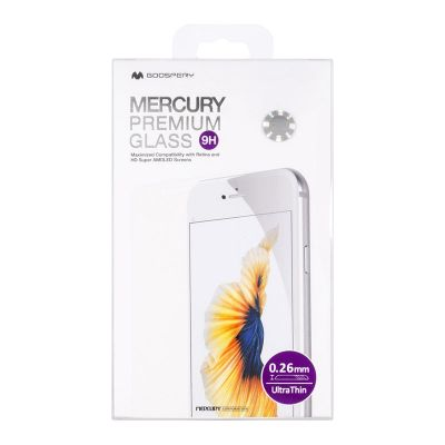 Hartowane szkło ochronne 9H iPhone 6s Plus / iPhone 6 Plus - Mercury Premium Glass