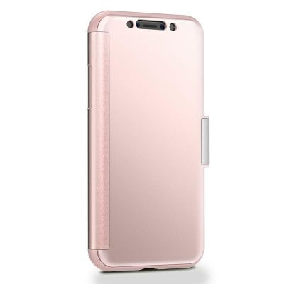 MOSHI STEALTHCOVER - ETUI IPHONE XS / X (CHAMPAGNE PINK)