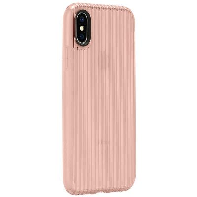 INCASE PROTECTIVE GUARD COVER - ETUI IPHONE X (ROSE GOLD)