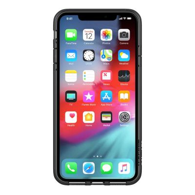 ETUI IPHONE XS / X - INCASE PROTECTIVE CLEAR COVER (BLACK)