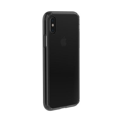 ETUI IPHONE XS / X - JUST MOBILE TENC AIR CASE (CRYSTAL BLACK)