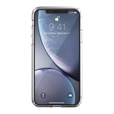 ETUI IPHONE XR - JUST MOBILE TENC AIR CASE (CRYSTAL CLEAR)