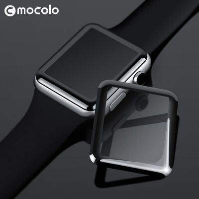 Szkło ochronne na ekran Apple Watch 44 mm - Mocolo 3D Glass Full Glue