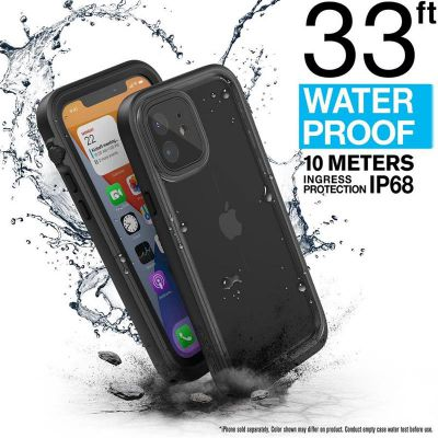 Etui wodoodporne iPhone 12 - Catalyst Total Protection Case (czarny)
