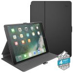 "ETUI IPAD AIR / PRO 10.5"" W/MAGNET & STAND UP - SPECK BALANCE FOLIO (BLACK/SLATE GREY)"