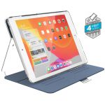 Etui iPad 10.2 w/Magnet & Stand up - Speck Balance Folio Clear (Marine Blue/Clear)