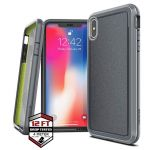 PANCERNE ETUI IPHONE XS MAX - X-DORIA DEFENSE ULTRA (DROP TEST 4M) (GRAY)