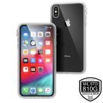 Pancerne etui iPhone Xs Max - Catalyst Impact Protection Case (Clear)