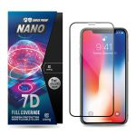 Szkło hybrydowe 9H na cały ekran iPhone 11 Pro / iPhone Xs / X - Crong 7D Nano Flexible Glass