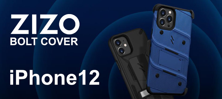 Zizo Bolt Cover - etui pancerne iPhone 12